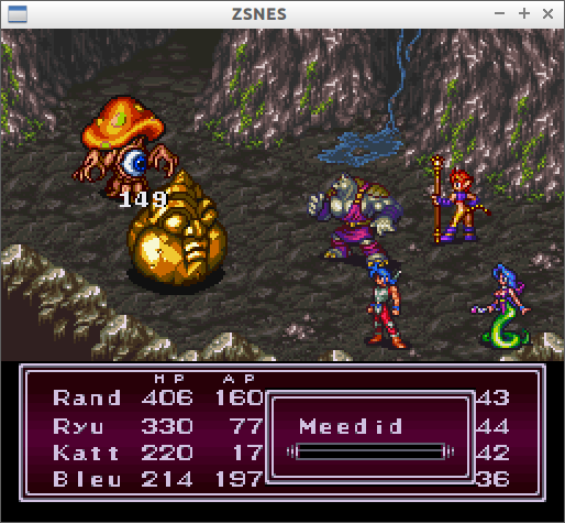 Grinding at Breath Of Fire