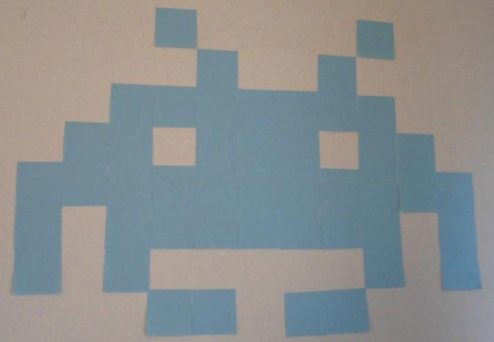 Exceptionnel Post-it pixel art DT02